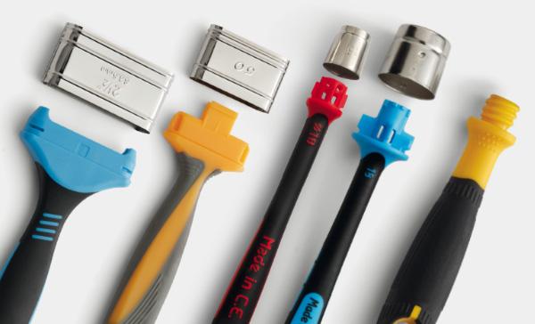 Manici per pennelli ghiere per pennelli - bicomponenti