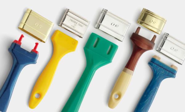 Manici per pennelli ghiere per pennelli componenti per pennelli - Pennellesse