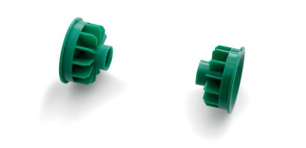 Articles for rollers for painting DALLE CRODE - rollers accessories - 040 Paint roller end cap